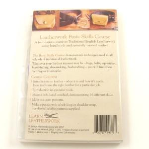 Learn Leatherwork Dvd Basic Skills Course
